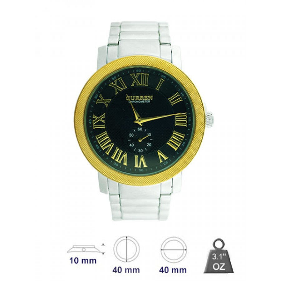 Metal Band Watch for men