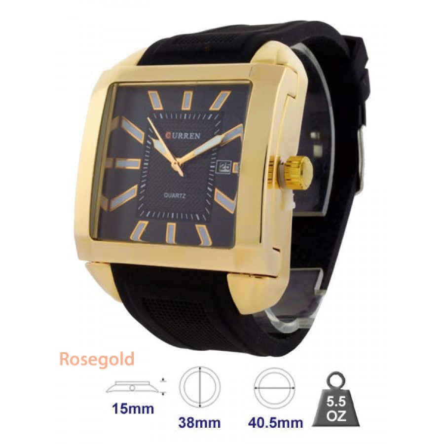 Mens Classic Leather Watch