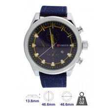 Curren Brand Leather Strap Watch for Mens