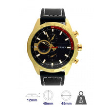 Leather Band Fashion Watch for Men`s