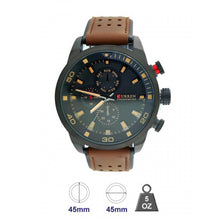 Curren Leather Band Watch for Men