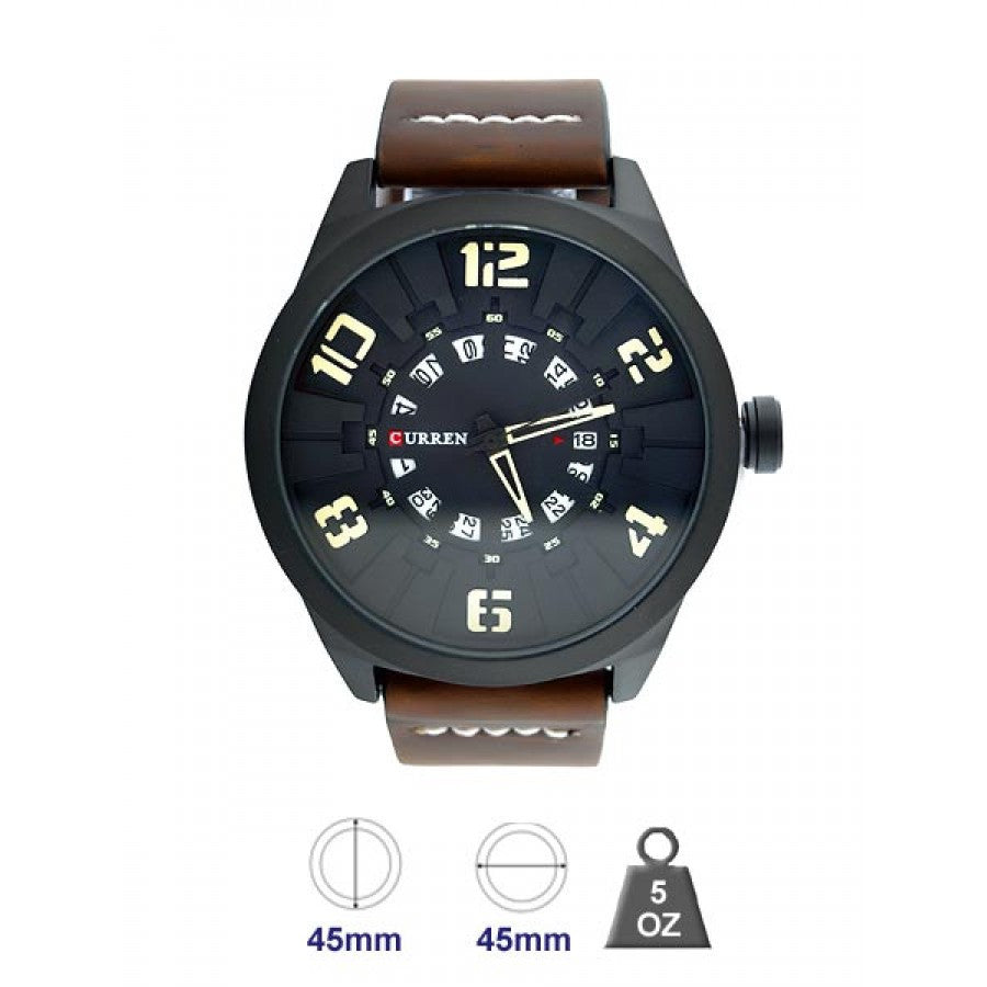 Curren Leather Band Watch for Men 5405329