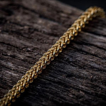 VESSEL 3x3MM Steel Gold Franco | 930652