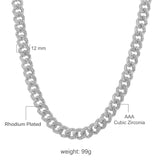 CAMEO 12 MM CZ CUBAN CHAIN | 961751