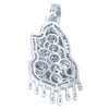 Pray 925 Pendant with CZ Stone  | 9210151