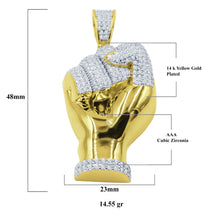 Gesture 925 Pendant with CZ Stone  | 9210182