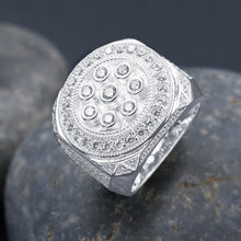 ENORMOUS 925 SILVER RING  | 9210331