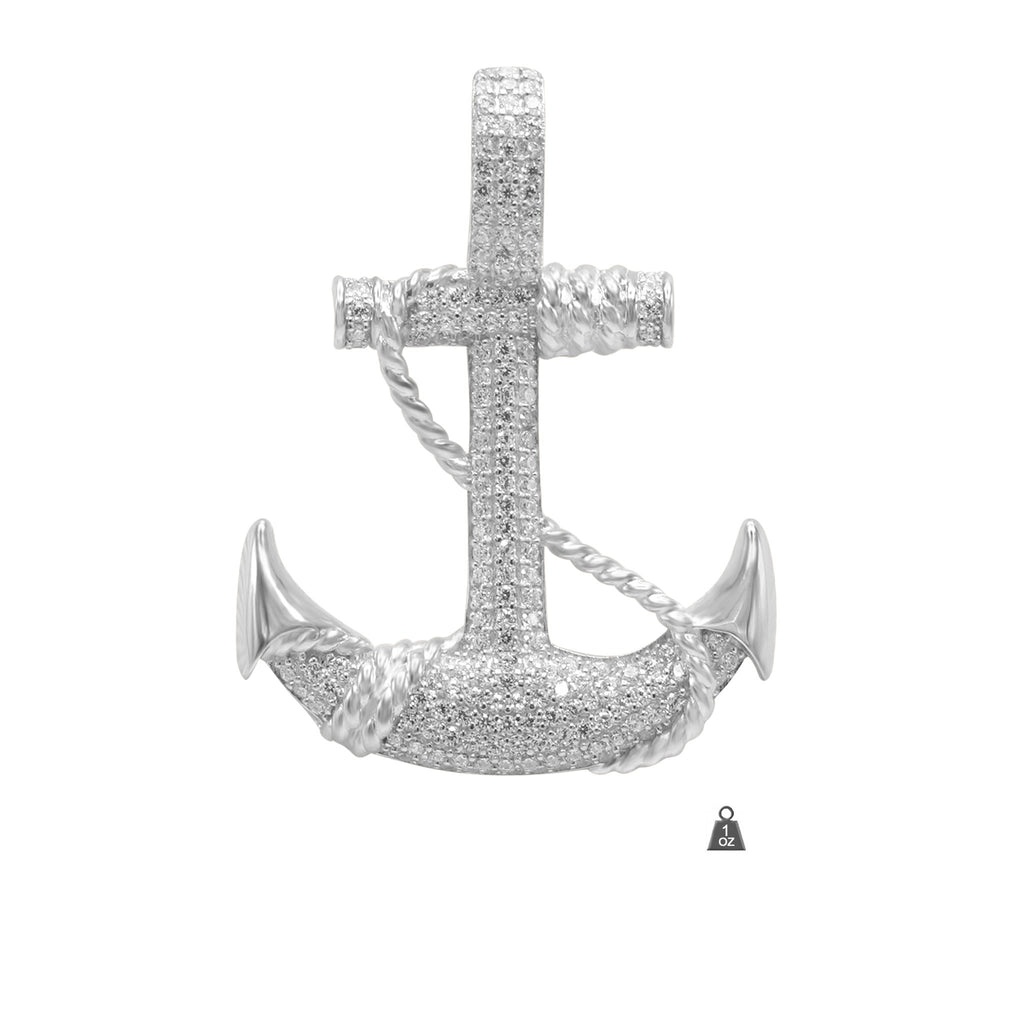 Anchor in 925 Silver 928091