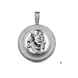 BEN FROM $100 BILL-Silver-Pendant-928611