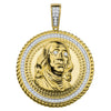 Ben from $100 Bill -Silver-Pendant-928612
