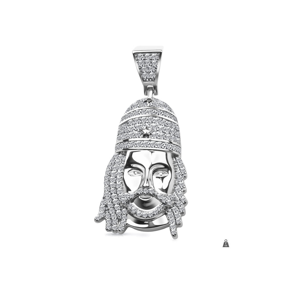 Silver jesus pendant cz 928691 watches international silver jesus pendant cz 928691 aloadofball Image collections