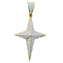 Silver Pendant with CZ Stone-929602