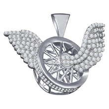Silver Pendant with CZ Stone-929661