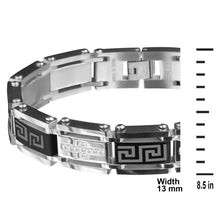STAINLESS STEEL WITH CZ BRACELET FOR MEN 22224