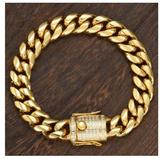 GUILD 18MM Steel CZ Cuban Bracelet | 938492