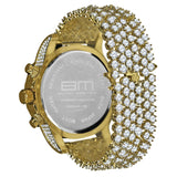 BURNISH CZ ICED OUT WATCH | 5110292