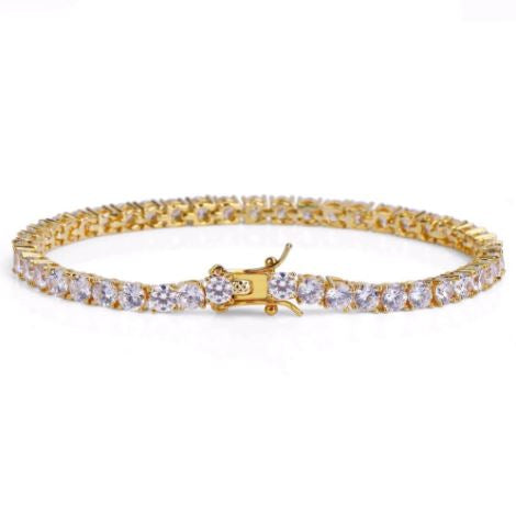 ROCK 4MM One Row Tennis Bracelet | 960542