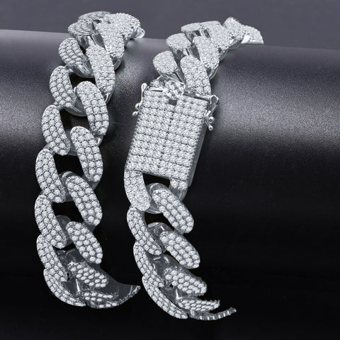 3MM CZ One Row Gold Chain-961471