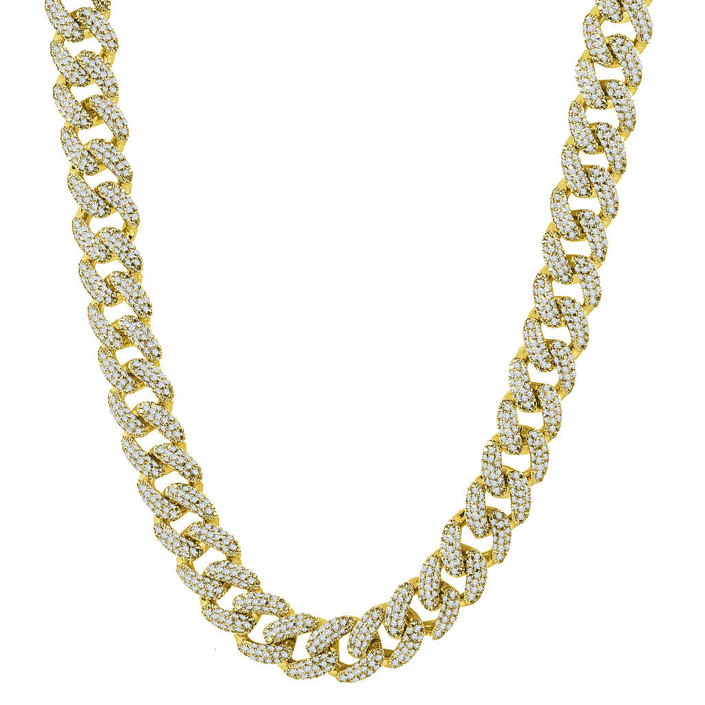STALLION Gold 18 MM Cuban Chain | 961524