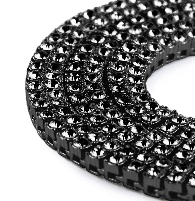 "BRACE 2 Row 24"" Tennis Chain 
