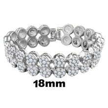 BUD 2 Row Flower Bracelet | 970831