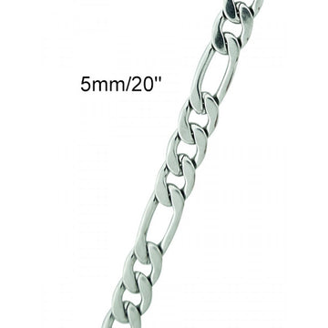 Men`s Stainless Steel Figro Chain