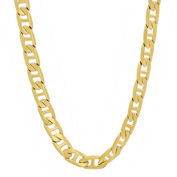 14K Yellow Gold Plated Brass Classic Gucci Chain