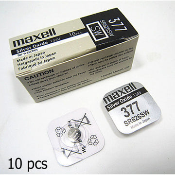 10PCS in a box. Most poular battery for watches