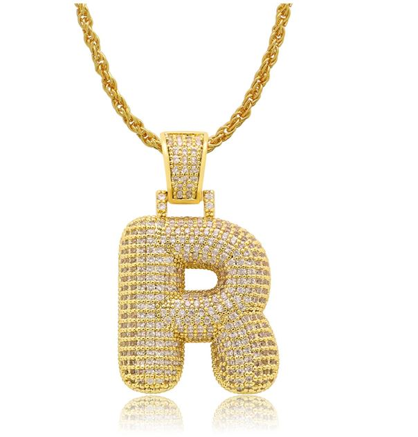 PIPE Gold HH Bubble Letter | D916512