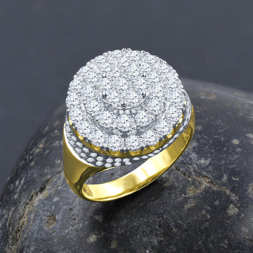 BAROQUE SILVER RING I 9215432