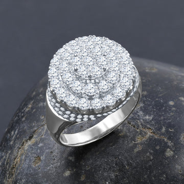 BAROQUE SILVER RING I 9215431
