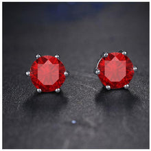 BEAM Red CZ Earring | 960556