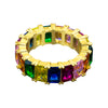 RAINBOW 925 SILVER RING  |  92111269