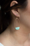 The Stones Drop Earring (Turquoise)