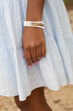 The Grace Cross Beaded Bracelet