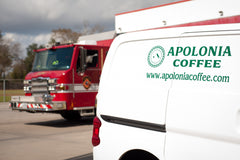 Houston FireFighter Coffee - Apolonia Coffee Support
