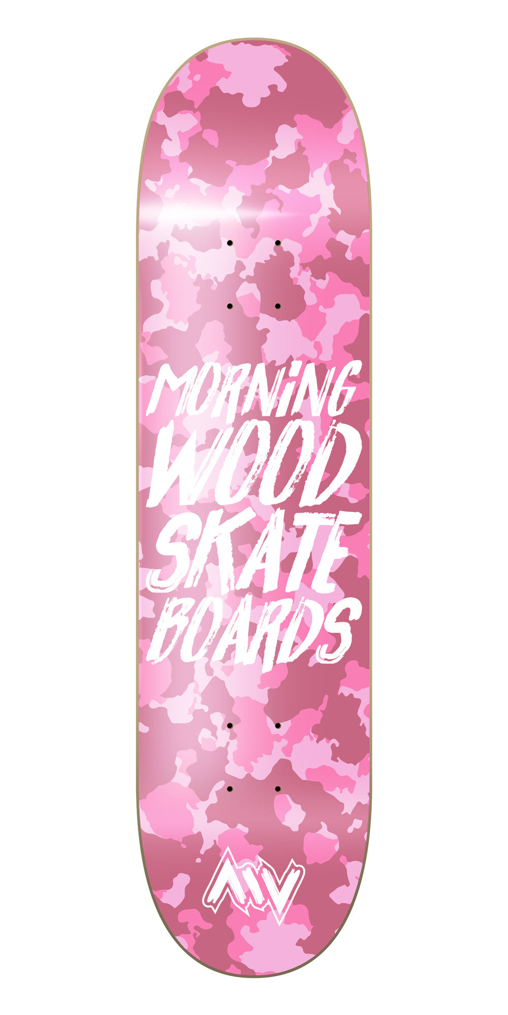 New York Pink Camo Skateboard Deck