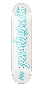 New York Morning Wood Cursive Skateboard Deck