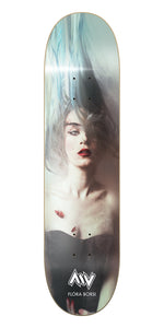 New York City Le Voyageur Flora Borsi Morning Wood Skateboards Deck