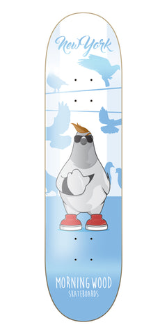 New York Flippin' Birds Skateboard Deck