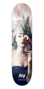 New York City Preacher Flora Borsi Morning Wood Skateboards Deck