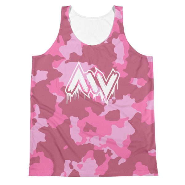 Morning Wood Skateboards New York City Pink Camo Tank Top