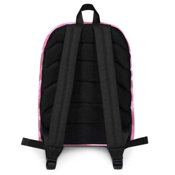 Morning Wood Skateboards New York City Pink Camo Jansport Backpack