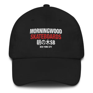 New York City Morning Wood Skateboards Dad Hat