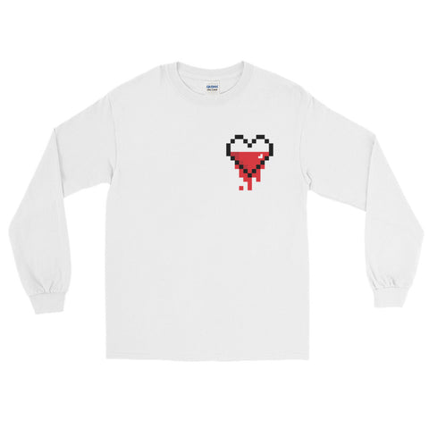 Morning Wood Skateboards New York City Player 1 Legend Of Zelda Breath Of The Wind Pixel Heart Long Sleeve