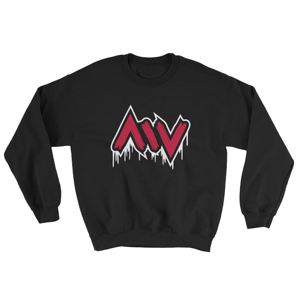 New York City Morning Wood Skateboards Drip Pull Over Sweater