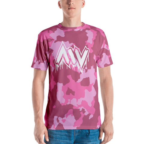 Morning Wood Skateboards New York City Pink Camo T Shirt