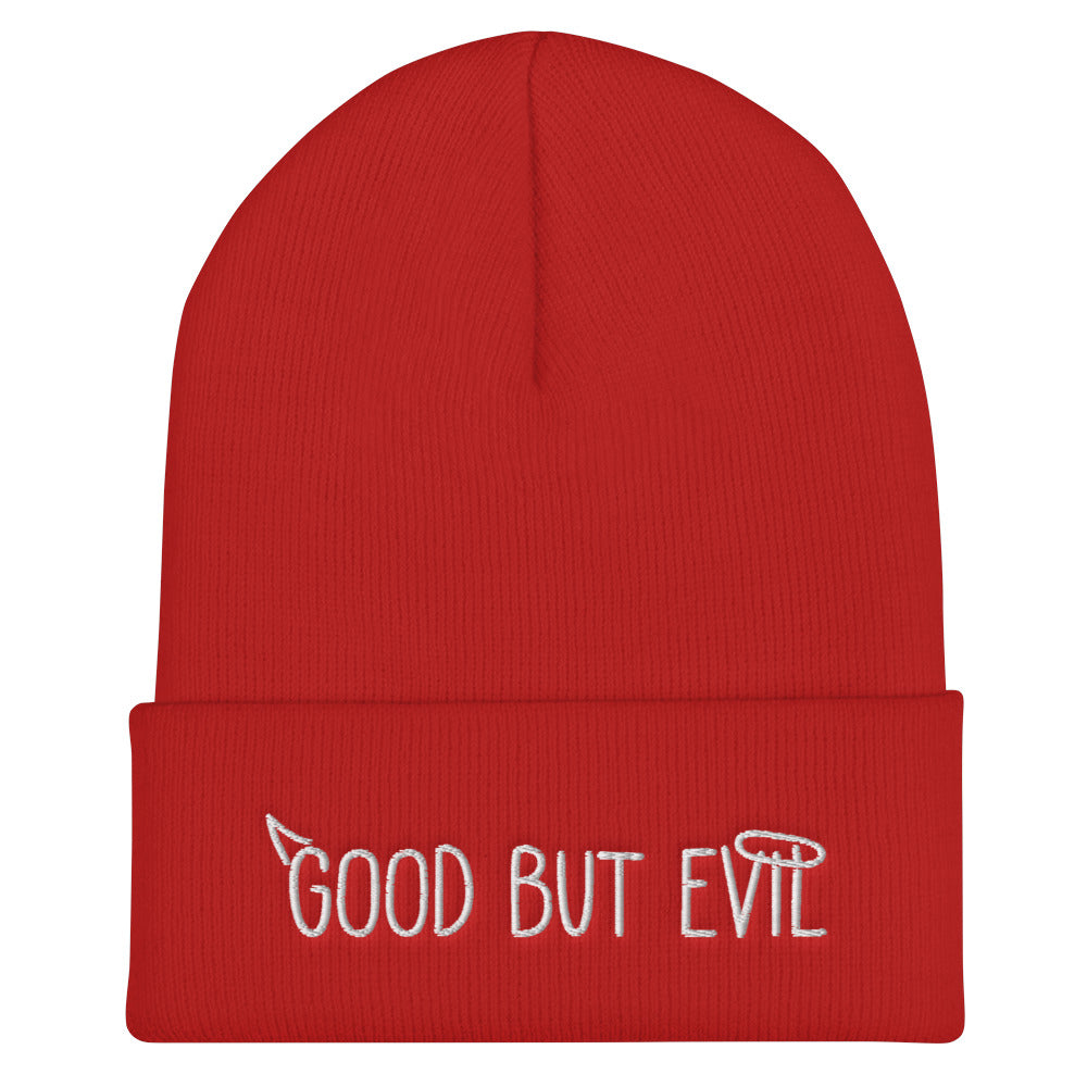 """Good but Evil"" Limited Beanie"