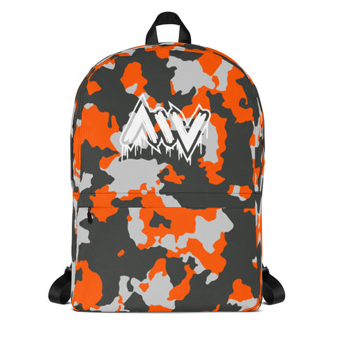Morning Wood Skateboards New York City Orange Camo Jansport Backpack