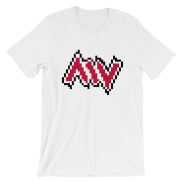New York City Morning Wood Skateboards Pixelate T Shirt